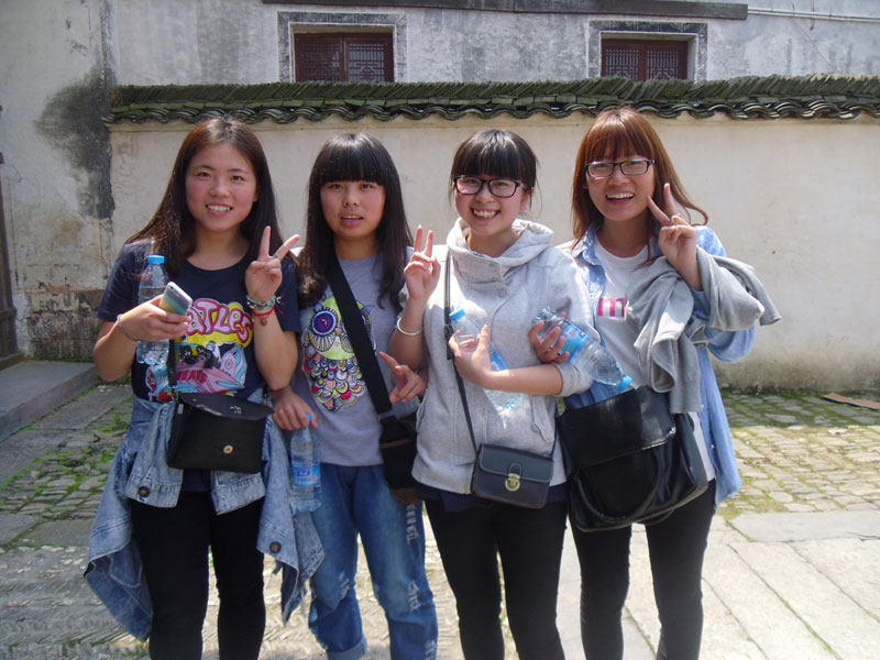 Touristes chinoises au Jiangsu (photo 2014)