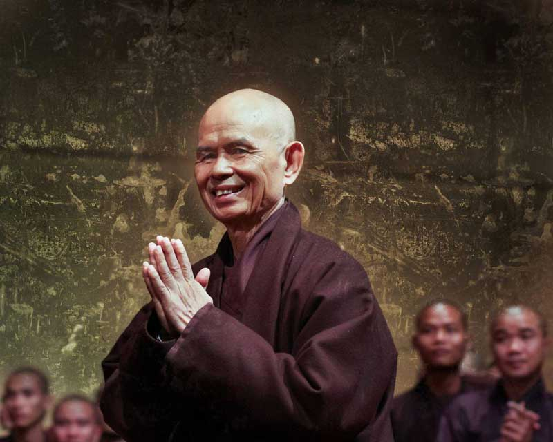 Thich Nhat Hanh, fondateur du village des pruniers (photo du Net)