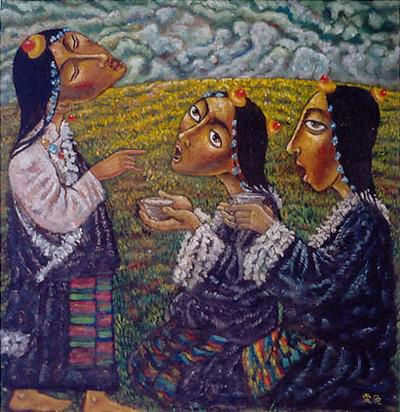 Zhungde : « Sisters » (2003) et « Barley beer song » (2001)